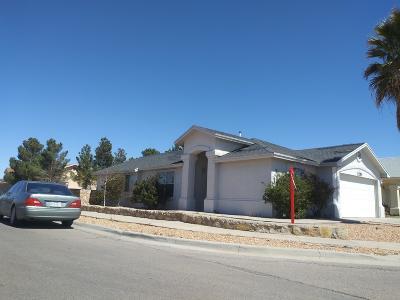 El Paso TX Single Family Home For Sale: $123,500