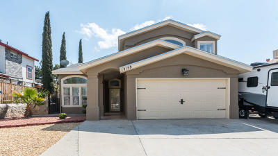 El Paso TX Single Family Home For Sale: $157,990