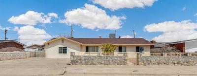 El Paso TX Single Family Home For Sale: $138,950