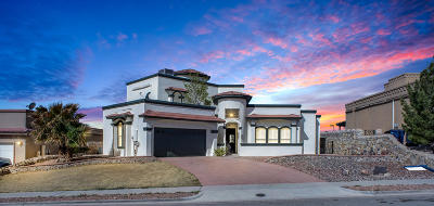 El Paso Single Family Home For Sale: 1443 Shelby Ridge Drive