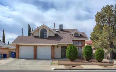 El Paso TX Single Family Home For Sale: $143,900