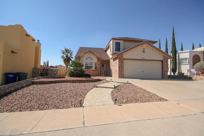 El Paso TX Single Family Home For Sale: $149,900