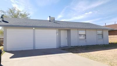 El Paso TX Single Family Home For Sale: $98,800