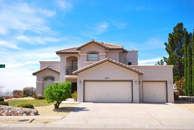 El Paso TX Single Family Home For Sale: $275,000