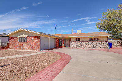 El Paso TX Single Family Home For Sale: $143,000