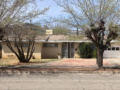 El Paso TX Single Family Home For Sale: $75,000