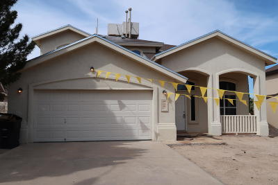 Horizon City Single Family Home For Sale: 525 Covington Ridge Way