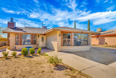 Vista Del Sol Single Family Home Pending Accepting Offers: 1613 Henri Dunant Drive