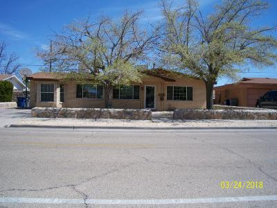El Paso Single Family Home For Sale: 3208 Kirkcaldy Road
