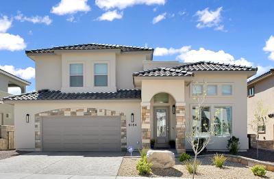 El Paso Single Family Home For Sale: 6184 Tranquil Desert Drive