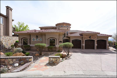 El Paso Single Family Home For Sale: 909 Via Penasco Lane
