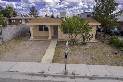 Canutillo Single Family Home For Sale: 1210 Zinn Road