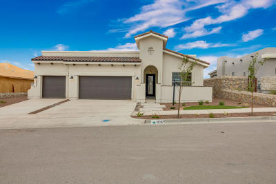 El Paso Single Family Home For Sale: 12337 Clifton Hill Road