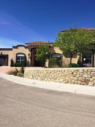El Paso Single Family Home For Sale: 6333 Calle Pino Way