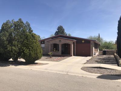 Horizon City Single Family Home For Sale: 136 Barrel Cactus Drive