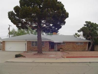 El Paso Single Family Home For Sale: 3014 Killarney Street