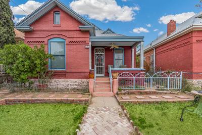 El Paso Single Family Home For Sale: 643 Upson Drive