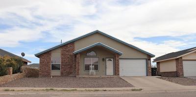 Horizon City Single Family Home For Sale: 14316 Puentecillas Drive