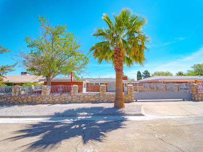 El Paso Single Family Home For Sale: 3322 Cork Drive