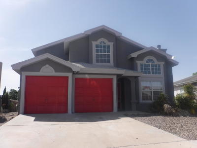 El Paso Single Family Home For Sale: 7561 Luz De Lumbre Avenue