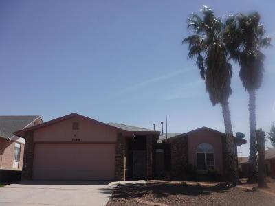 El Paso Single Family Home For Sale: 7140 Tierra Taos Drive