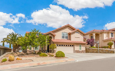 El Paso Single Family Home For Sale: 6313 Franklin View Drive
