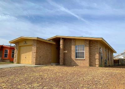 El Paso Single Family Home For Sale: 10925 Bay Bridge Street