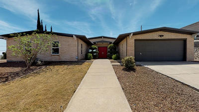 El Paso Single Family Home For Sale: 6213 Constellation Drive