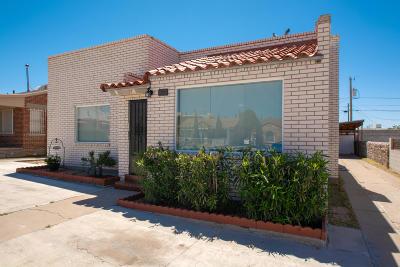 El Paso Single Family Home For Sale: 4012 Chester Avenue