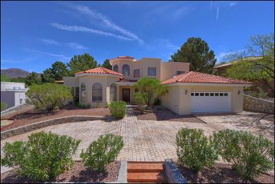 El Paso Single Family Home Pending Accepting Offers: 1212 Cerrito Alto Lane