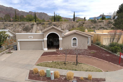 El Paso Single Family Home For Sale: 824 Via Descanso Drive