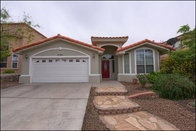 El Paso Single Family Home For Sale: 6380 Franklin Gate Drive
