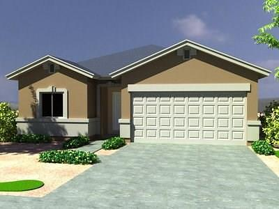 El Paso Single Family Home For Sale: 13761 Brandsby Avenue