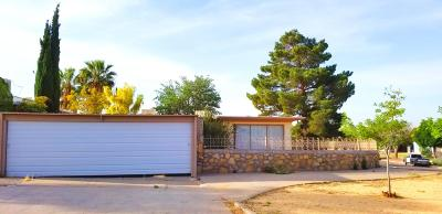 El Paso Single Family Home For Sale: 4732 Caples Circle Circle