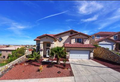 El Paso Single Family Home For Sale: 6057 Via Serena Drive