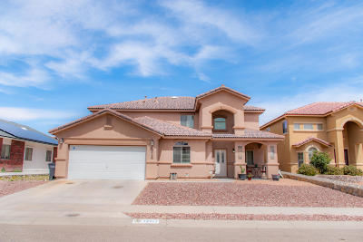 El Paso Single Family Home For Sale: 12717 Tierra Zulema Court