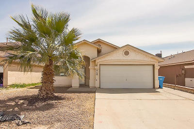 Socorro Single Family Home For Sale: 412 Valle Tila Drive