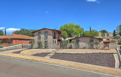 El Paso Single Family Home For Sale: 10126 Stoneway Drive