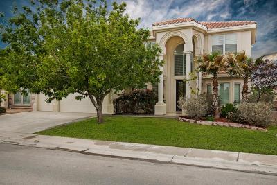 El Paso Single Family Home For Sale: 12416 Sombra Alegre Drive