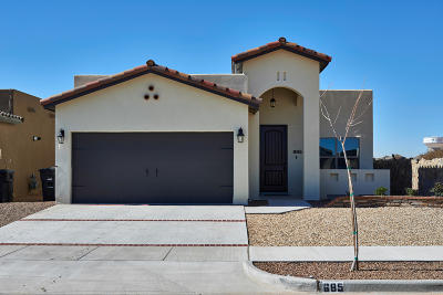 El Paso Single Family Home For Sale: 13713 Garforth Avenue