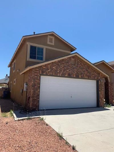 El Paso Single Family Home For Sale: 14232 Rudy Valdez Drive