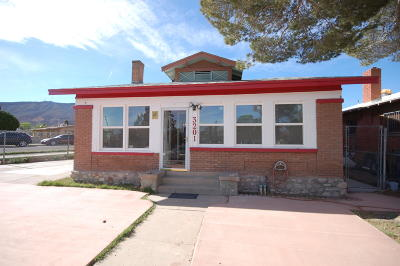 El Paso Single Family Home For Sale: 3201 Douglas Avenue