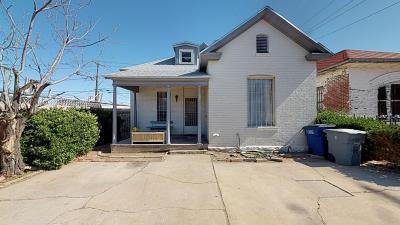El Paso TX Single Family Home For Sale: $78,975