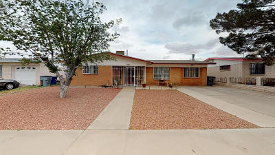 El Paso TX Single Family Home For Sale: $129,999