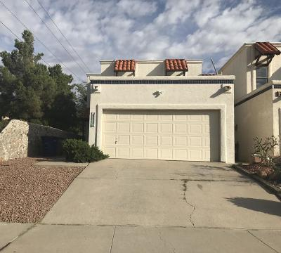 El Paso Condo/Townhouse For Sale: 6035 Bandolero Drive