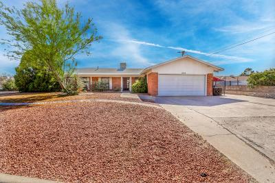 El Paso Single Family Home For Sale: 235 Ridgemont Drive