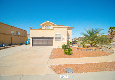 El Paso Single Family Home For Sale: 1309 Rosa Guerrero Place