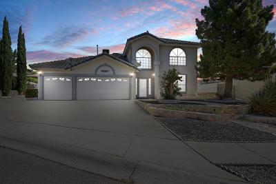 El Paso Single Family Home For Sale: 4281 Loma Azteca Court