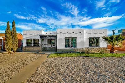 El Paso Single Family Home For Sale: 4630 Bonds Court
