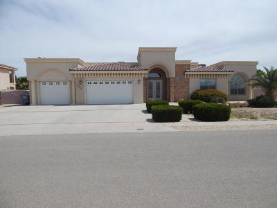 El Paso Single Family Home For Sale: 5808 Angel Street